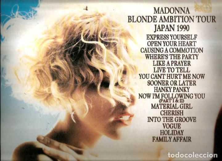Discos de vinilo: DOBLE LP MADONNA : BLOND AMBITION WORLD TOUR / JAPAN 1990 - Foto 2 - 127671067