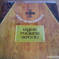 Discos de vinilo: JOHN ENTWISTLE - RIGOR MORTIS SETS IN************ MEGA RARO LP ESPAÑOL 1973 THE WHO. Lote 127679279