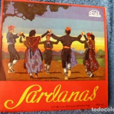 Discos de vinilo: SARDANES -LA PRINCIPAL DE LA BISBAL ´DEVANT LA VERGE -T 3 MAS. Lote 127680879