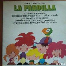 Discos de vinilo: LP LA PANDILLA (1971). CARPETA DOBLE. MUY BUEN ESTADO. Lote 127684503