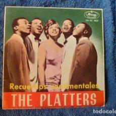 Discos de vinilo: THE PLATTERS-EN UN PUEBLECITO ESPANOL-Y 3 MAS. Lote 127686095