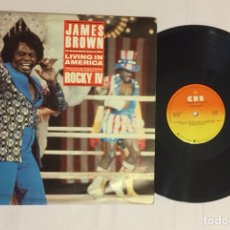 "Discos de vinilo: JAMES BROWN - LIVING IN AMERICA 12"" MAXI (EDICIÓN VENEZUELA). Lote 127687310"