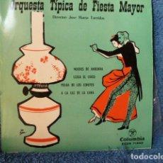 Discos de vinilo: ORQUESTA TIPICA DE FIESTA MAYOR -- LLEGA EL CIRCO Y 3 MAS. Lote 127695623