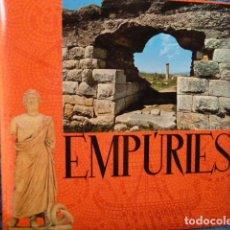 Discos de vinilo: EMPURIAS-DISCO QUE HABLA DE LAS RUINAS ROMANAS DE EMPURIAS -EN CATALAN. Lote 127713191