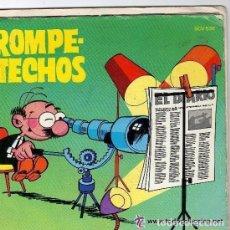 Discos de vinilo: ROMPETECHOS DE VIGÍA… ¡QUIÉN LO DIRÍA!' DISCO CÓMIC 6 PÁGINAS. 1971. Lote 127714071