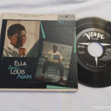 Discos de vinilo: ELLA AND LOUIS AGAIN - ELLA AND LOUIS AGAIN PART 2 (1ª EDICIÓN AMERICANA). Lote 127723851