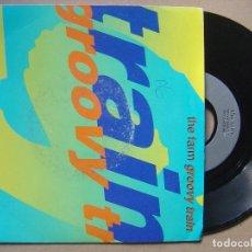 Discos de vinilo: THE FARM - GROOVY TRAIN - SINGLE UK 1990 - PRODUCE. Lote 127724743