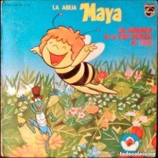 Discos de vinilo: LA ABEJA MAYA - LAS CANCIONES DE LA SERIE ORIGINAL DE RTVE - LP SPAIN 1978. Lote 127725951