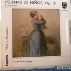 Discos de vinilo: CLARA HASKIL-PIANO -ESCENAS DE NIÑOS -R.SCHUMANN. Lote 127727687