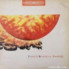 Discos de vinilo: DANCE 2 TRANCE - POWER OF AMERICAN NATIVES '93 MAXI-SINGLE MAX MUSIC SPAIN. Lote 127731411