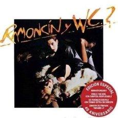 Discos de vinilo: RAMONCIN - VINILO + CD RAMONCÍN Y WC *** COPIA FIRMADA LIMITADA ***. Lote 127745143