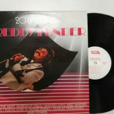 Discos de vinilo: FREDDY FENDER 20 GREATES HITS, ETC 20 ÉXITOS MADE IN WEST-GERMANY. Lote 127618767