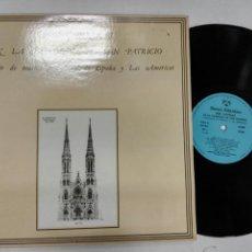 Discos de vinilo: JOSÉ CARRERAS EN LA CATEDRAL DE SAN PATRICIO CONCIERTO MÚSICA TRADICIONAL DE ESPAÑA Y LAS AMÉRICAS. Lote 127619775