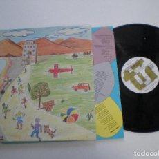 Discos de vinilo: GRUPO TEATRO INFANTIL TECNICAS REUNIDAS - LP HI-FI ELECTRONICA 1985 // BIZARRO MINIMAL SYNTH POP. Lote 127749387