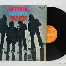 Discos de vinilo: DISCO LP DE VINILO - BEFOUR / BRIAN AUGER & THE TRINITY - RCA, 1971. Lote 127756164