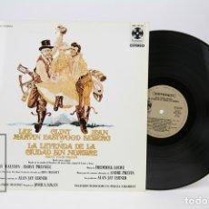 Discos de vinilo: DISCO LP DE VINILO - LA LEYENDA DE LA CIUDAD SIN NOMBRE - PARAMOUNT - AÑO 1970. Lote 127756318