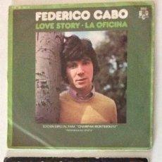Discos de vinilo: INTI-ILLIMANI - CANCIÓN DEL PODER POPULAR + FEDERICO CABO - LOVE STORY / LA OFICINA. Lote 127759735