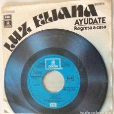 Discos de vinilo: LUZ ELIANA - AYÚDATE / REGRESA A CASA. Lote 127759987