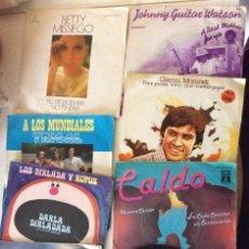 Discos de vinilo: LOTE DE SINGLES. Lote 127763083