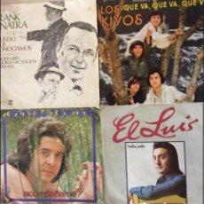 Discos de vinilo: LOTE DE 4 SINGLES. Lote 127763419