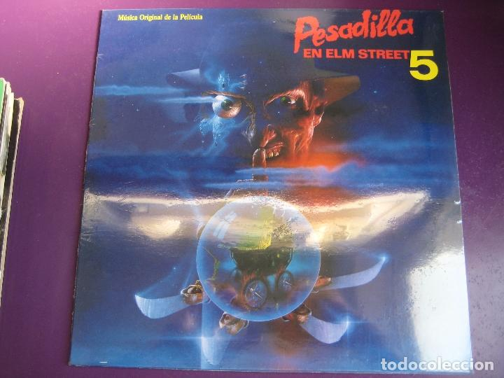 Pesadilla En Elm Street 5 Lp Bmg Jive 1989 Br Sold Through Direct Sale 127768431