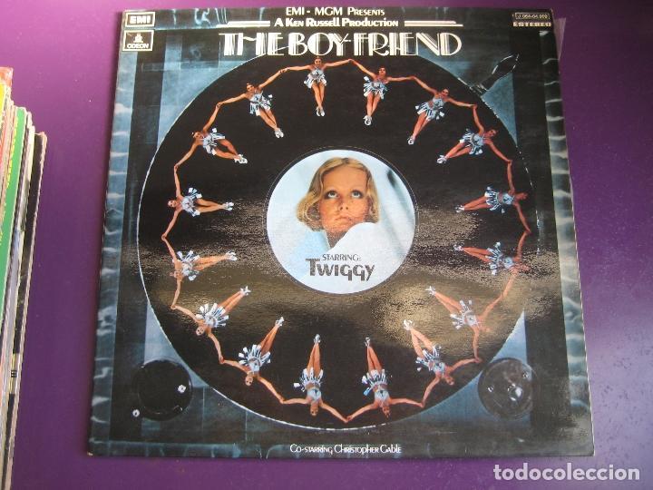 THE BOYFRIEND - TWIGGY LP EMI ODEON 1972 - BSO OST - PETER MAXWELL DAVIES - (Música - Discos - LP Vinilo - Bandas Sonoras y Música de Actores )