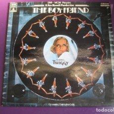 Discos de vinilo: THE BOYFRIEND - TWIGGY LP EMI ODEON 1972 - BSO OST - PETER MAXWELL DAVIES - . Lote 127769867