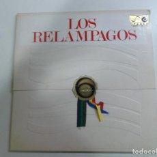 Discos de vinilo: LOS RELAMPAGOS 6 PISTAS ZAFIRO ESTEREO 1966. Lote 127778287