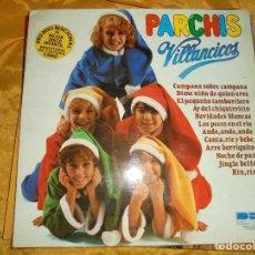 Discos de vinilo: PARCHIS. VILLANCICOS. BELTER, 1980. CARATULA ABIERTA CON BELEN . Lote 127781035