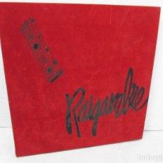 Discos de vinilo: RAIGAMBRE. DEDICADO A LUIS DE VAL POR EL FOTOGRAFO JOAQUIN GAZO. 1987. 6 DISCOS DE VINILO. M. ARAGON. Lote 127789979