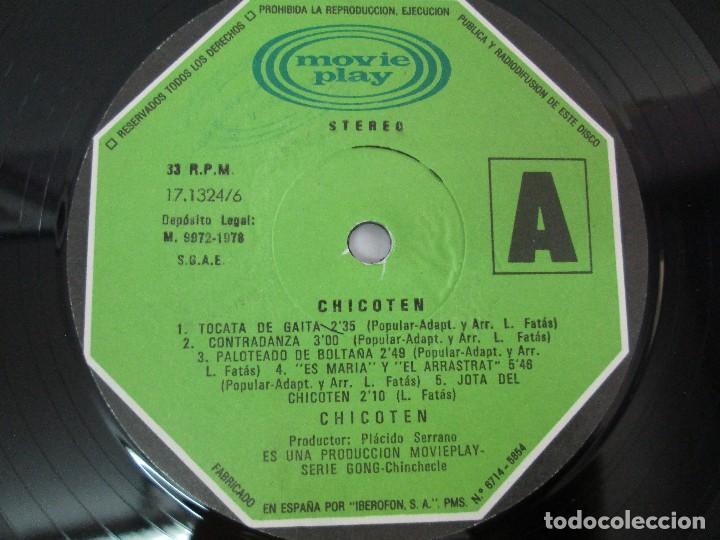 Discos de vinilo: CHICOTEN. MOVIE PLAY. 1978. LP VINILO. VER FOTOGRAFIAS ADJUNTAS - Foto 6 - 127790867