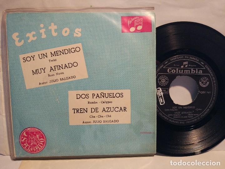 ORQUESTA DE JAZZ DE JAIME POCOVI EP.1963 SOY UN MENDIGO + 3 TEMAS (Música - Discos de Vinilo - EPs - Jazz, Jazz-Rock, Blues y R&B)