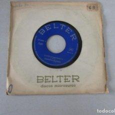 Discos de vinilo: CONCHITA BAUTISTA LA JUVENTUD SABE DONDE VA/ QUÉ COSA GRANDE ES EL AMOR BELTER 1970. Lote 127795595