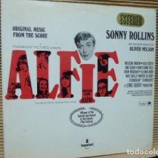Discos de vinilo: SONNY ROLLING -ALFIE BANDA SONORA-EDICION SPAIN. Lote 127802219