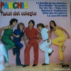 Discos de vinilo: PARCHÍS - TWIST DEL COLEGIO - EDICIÓN DE 1980 DE ESPAÑA. Lote 127808619