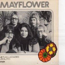Discos de vinilo: MAYFLOWER, SG, VENETIAN ADAGIO + 1, AÑO 1972. Lote 127808811