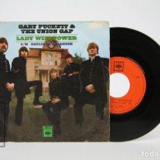 Discos de vinilo: DISCO EP DE VINILO - GARY PUCKETT & THE UNION GAP / LADY WILLPOWER - CBS - AÑO 1968. Lote 127821328