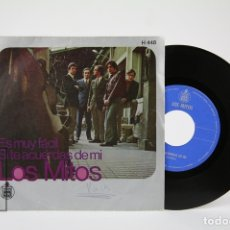 Discos de vinilo: DISCO EP DE VINILO - LOS MITOS / ES MUY FÁCIL, SI TE ACUERDAS DE MI - HISPA VOX - AÑO 1969. Lote 127821380