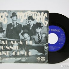 Discos de vinilo: DISCO EP DE VINILO - LOS MUSTANG / BALADA DE BONNIE AND CLYDE - LA VOZ DE SU AMO - AÑO 1968. Lote 127821411
