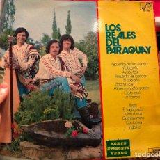 Discos de vinilo: LP LOS REALES DEL PARAGUAY. Lote 127828707