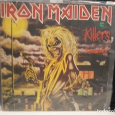 Discos de vinilo: LP. IRON MAIDEN - ASESINOS. Lote 127834883