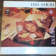 Discos de vinilo: ANNA DOMINO - EAST AND WEST LP MINI-ALBUM ED. ESPAÑOLA 1984. Lote 127835251