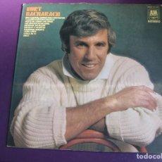 Discos de vinilo: BURT BACHARACH LP AM HISPAVOX 1971 - JAZZ EASY LISTENING . CINE. Lote 127845195