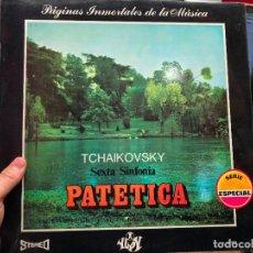 Discos de vinilo: LP TCHAIKOVSKY - PATETICA. Lote 127852803