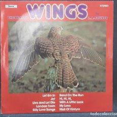 Discos de vinilo: L.A. SOUNDS - PAUL MCCARTNEY - WINGS - BEATLES - THE BEAT OF WINGS - LP - UK - VERSIONES - MUY BUENO. Lote 127856135