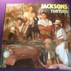 Discos de vinilo: JACKSONS MAXI SINGLE EPIC 1984 - TORTURE + 1 - MICHAEL JACKSON - FUNK POP . Lote 127857395