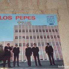 Discos de vinilo: LOS PEPES - S/T- LP- SPANISH BEAT, GARAGE ROCK-1966- REED,2016-DESCATALOGADO- MINT-PRECINTADO-. Lote 127860951