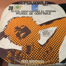 Discos de vinilo: PAINEL DE CONTROLE (BLACK COCO) MAXI ESPAÑA PROMO 1978 COLECCION SUPERSINGLE (VIN-A5). Lote 127866475