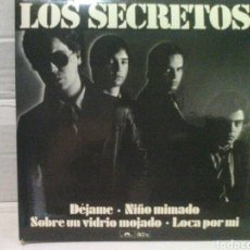 Discos de vinilo: LOS SECRETOS DÉJAME EP EDICION LIMITADA Y NUMERADA 4293. Lote 127876135