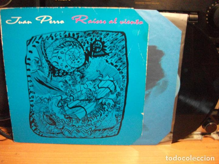 JUAN PERRO RAICES AL VIENTO LP SPAIN 1995 PEPETO TOP (Música - Discos de Vinilo - Maxi Singles - Solistas Españoles de los 70 a la actualidad)